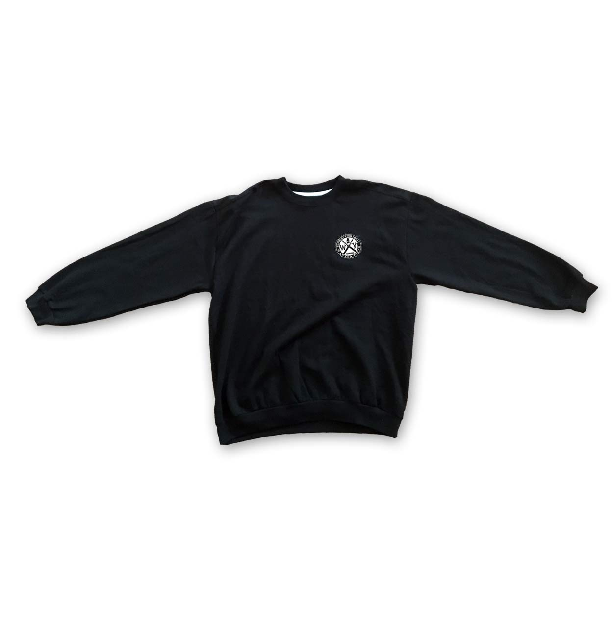 Support Patch Crew Neck Black