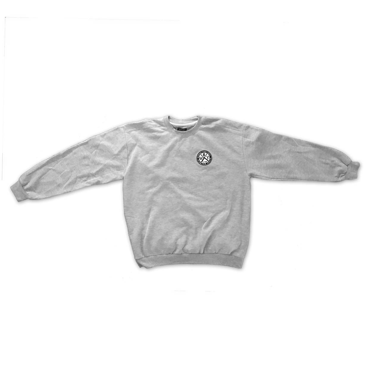 Support Patch Crew Neck Grey