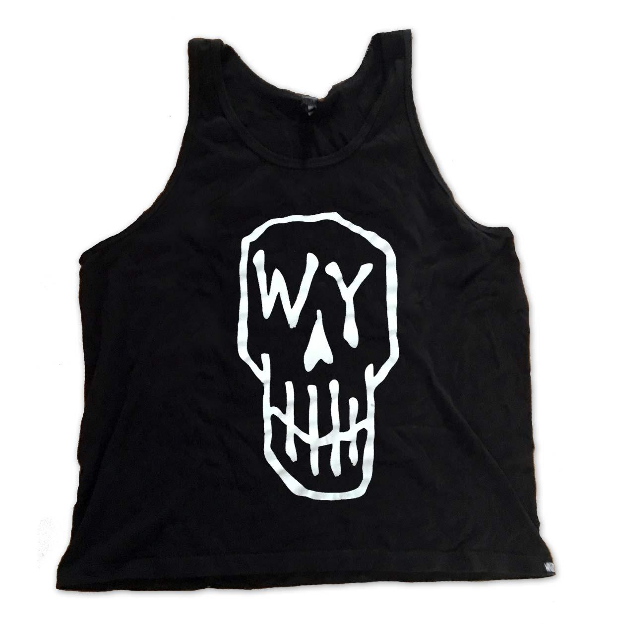Skull Tank Black