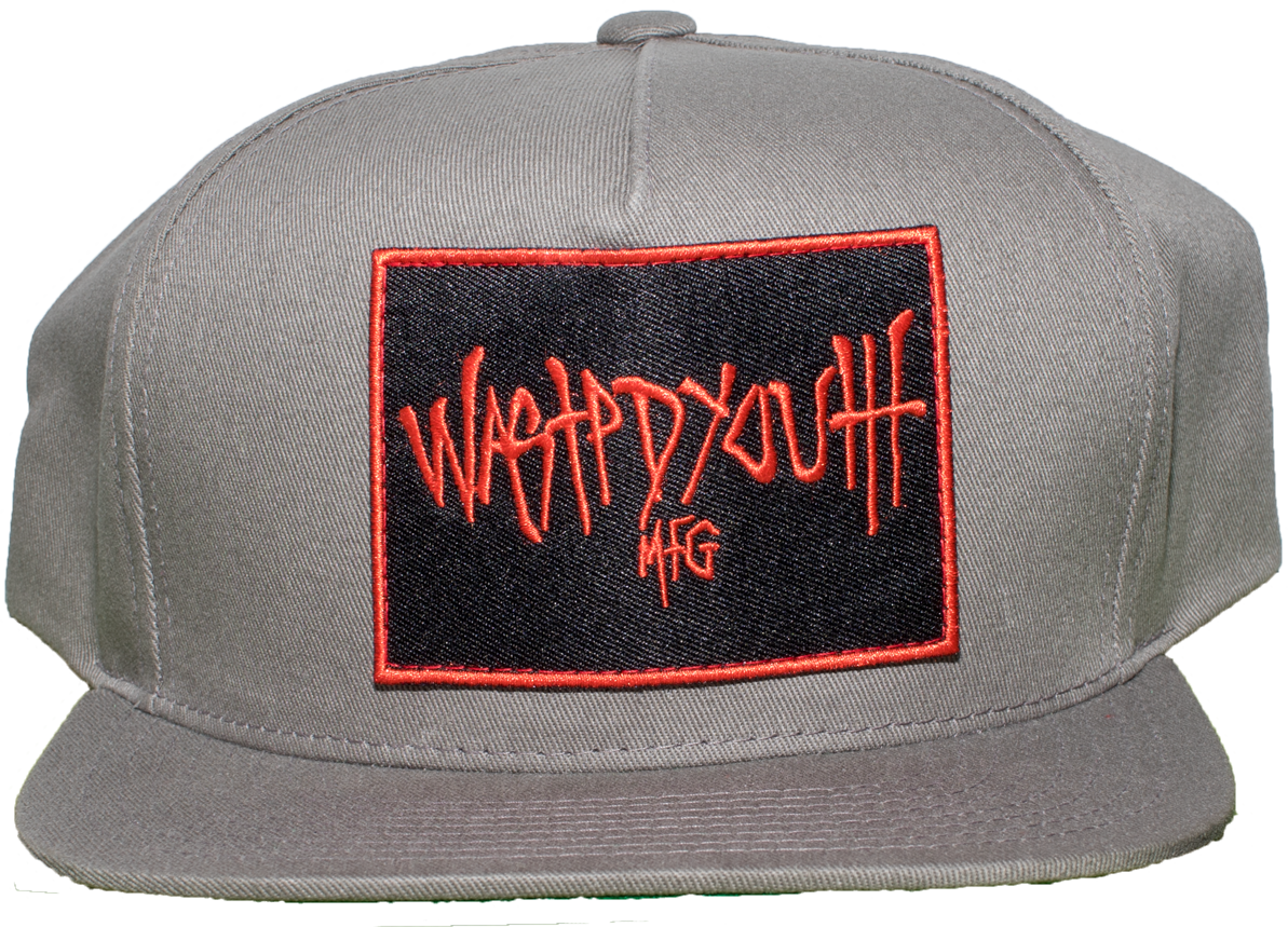 Grey Snap Back